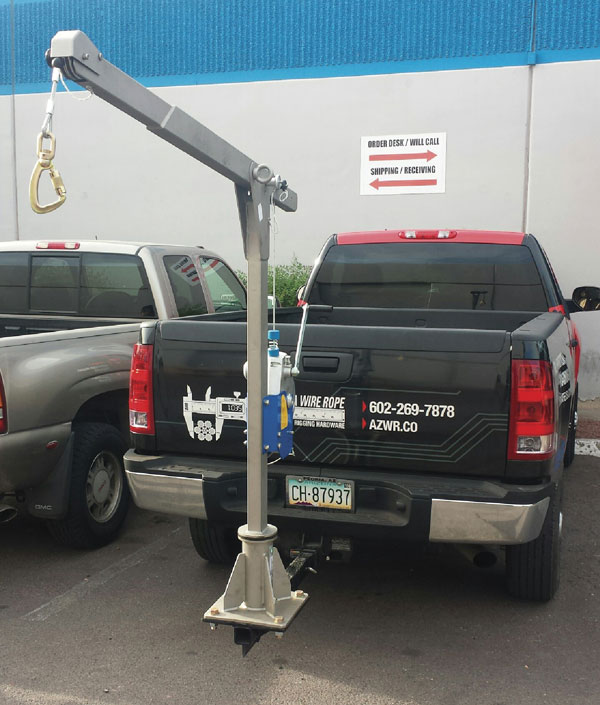 Cantilever Truck Mount